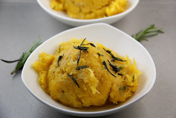 Mediterranean Diet Recipes: Pumpkin with Rosemary