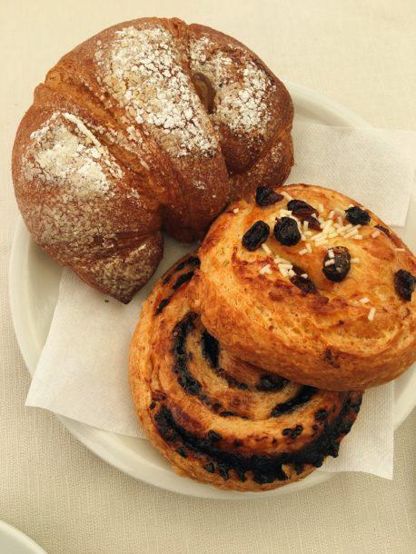 Mediterranean Diet: Croissant in Italy