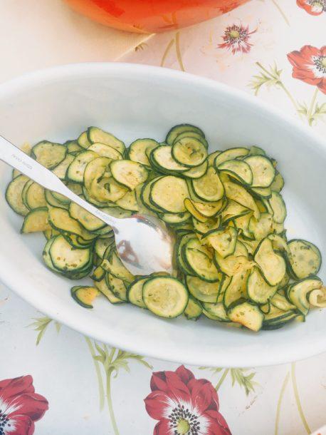 Mediterranean Diet: Zucchini in Italy