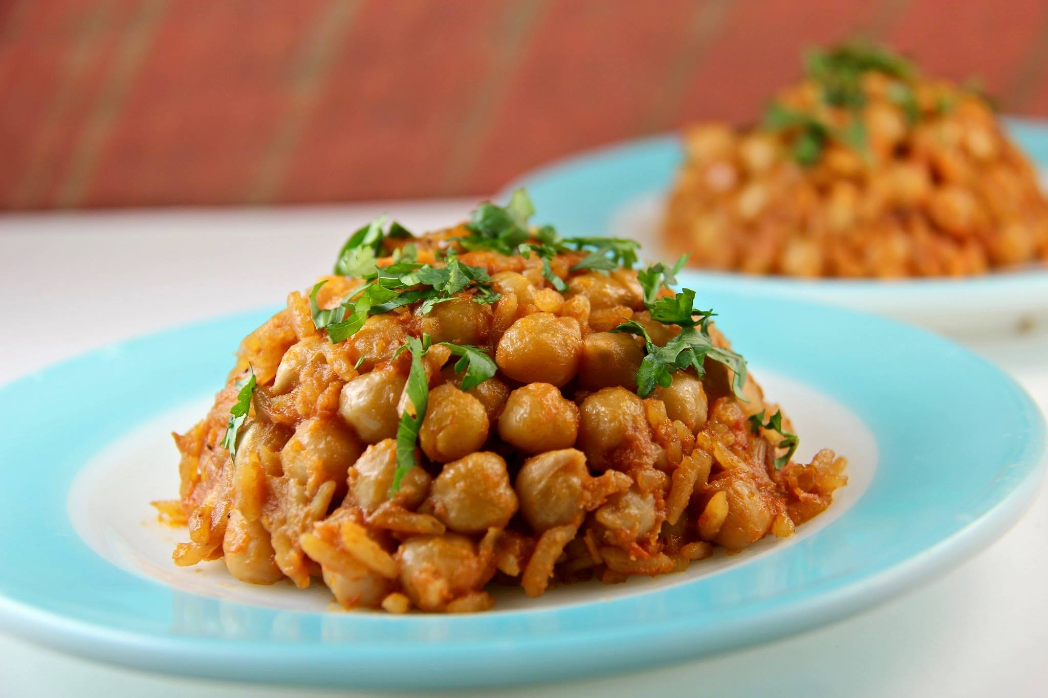 Mediterranean Diet Recipes: Turkish Garbanzo Bean Pilaf