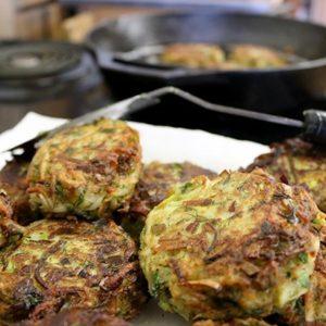 Mediterranean Diet: Leek Fritters