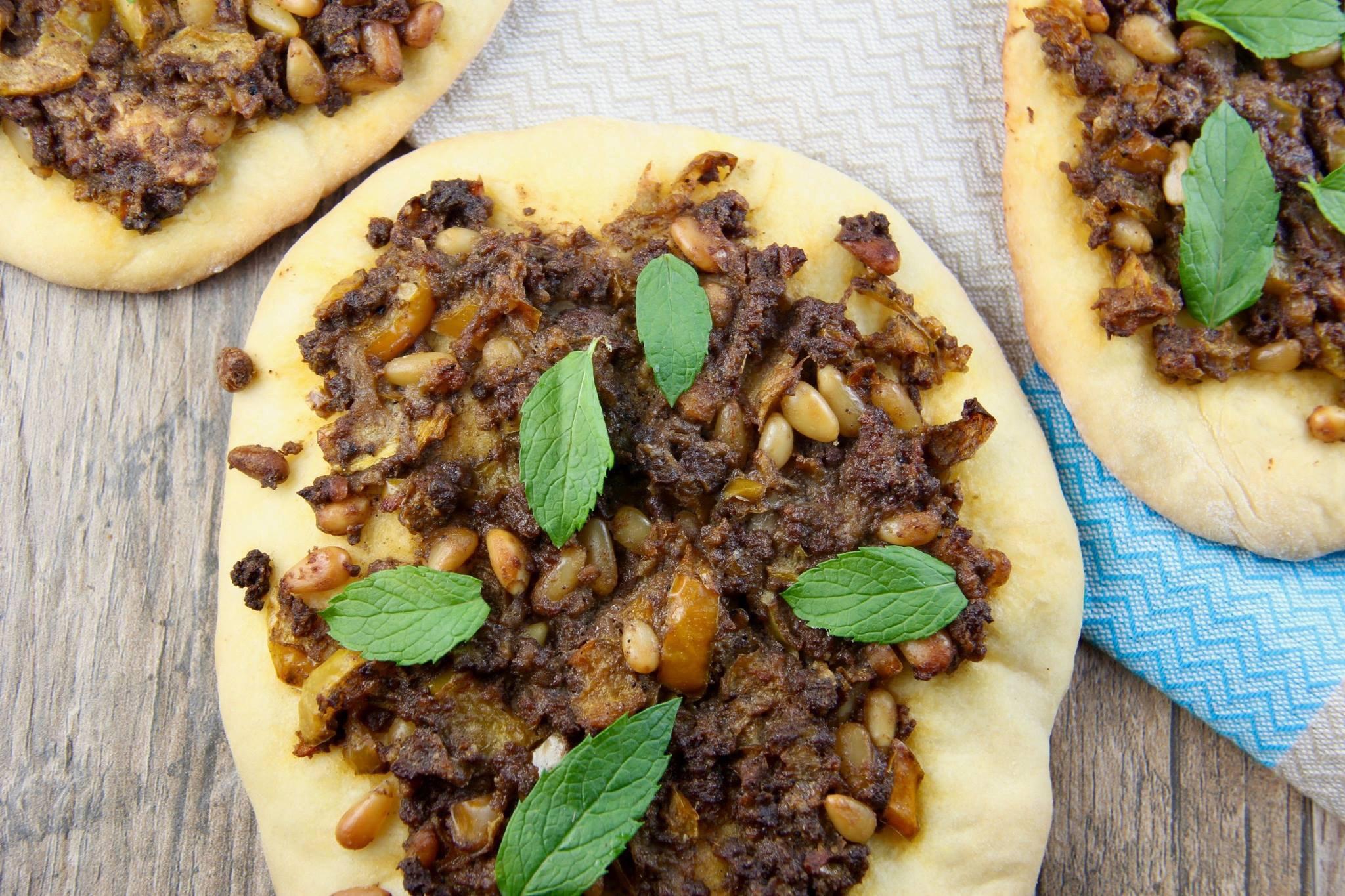 Mediterranean Diet Recipes: Lahmajun