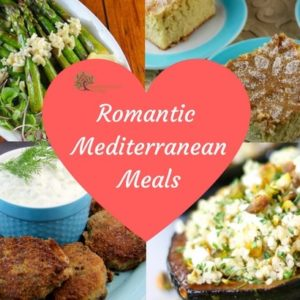 Romantic mediterranean meals