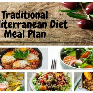 Traditional Mediterranean Diet Meal Plan