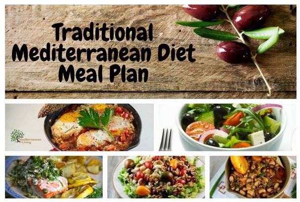 Traditional Mediterranean Diet Meal Plan - Mediterranean Living