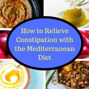 How to Relieve Constipation with the Mediterranean Diet