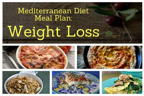 Mediterranean Diet Meal Plan: Weight Loss - Mediterranean Living