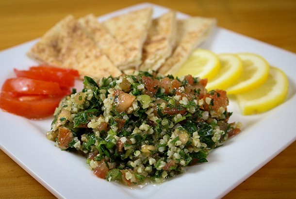 mediterranean diet recipes: tabouli