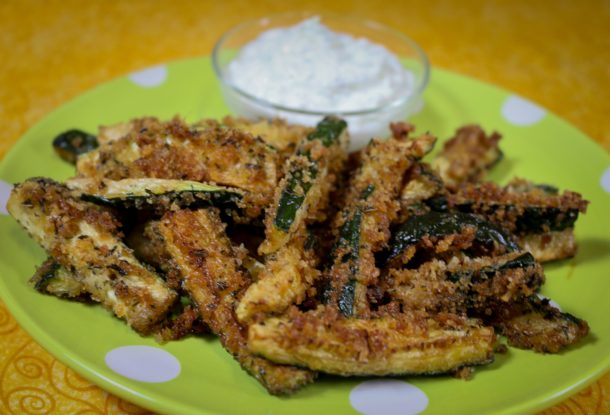 zucchini fries: mediterranean diet