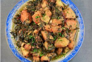 horta and potatoes ladera
