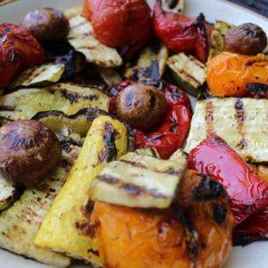 Grilled Marinated Summer Vegetables