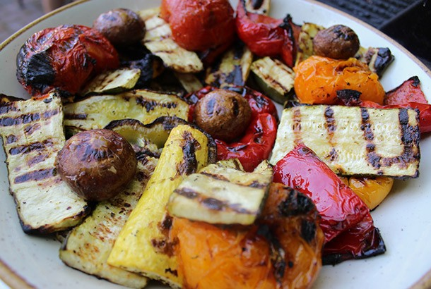 Grilled Marinated Summer Vegetables