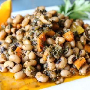 black eyed beans instant pot