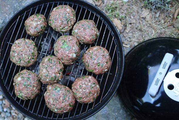 Losh Kebab Lamb and Beef Burgers