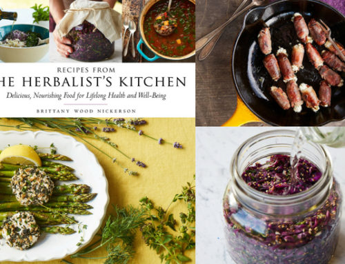 Review: Recipes from the Herbalist's Kitchen by Brittany Nickerson