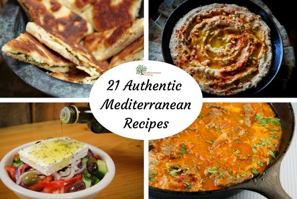 authentic Mediterranean food recipes