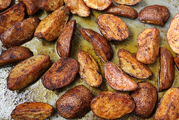 Oven Fried Potatoes With Mediterranean Spice Blend Mediterranean Living