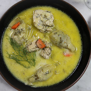Instant Pot Greek Chicken and Artichokes with Egg-Lemon Sauce