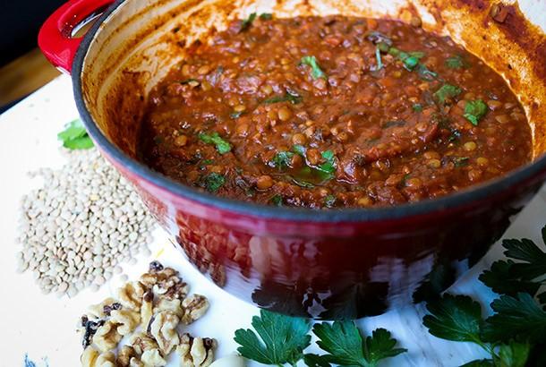 Vegan Lentil Recipes Meat Sauce