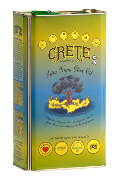Extra Virgin Olive Oil from the Island of Crete, Greece