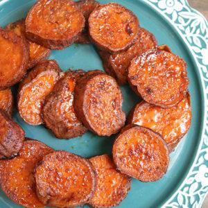 maple sweet potatoes with smoked paprika