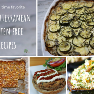healthy gluten free recipes of the Mediterranean