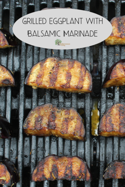 Grilled Eggplant with Balsamic Marinade