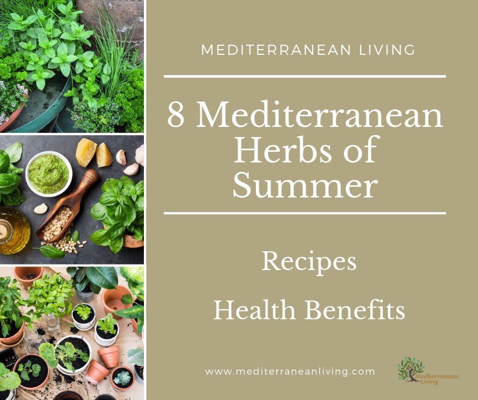 Mediterranean Healing Herbs of Summer