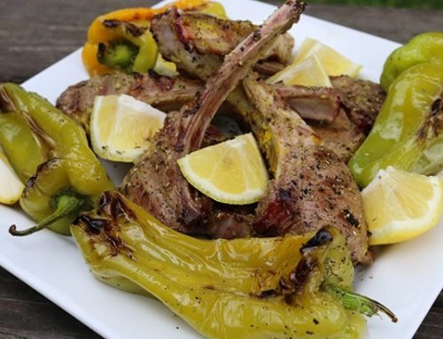 Grilled Lamb Chops (Lamb Lollipops)