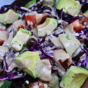 Sweet Tahini Sauce and Dressing with Balsamic and Honey