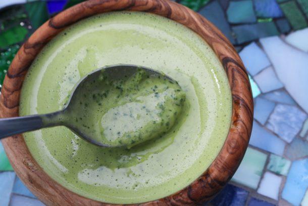 green tahini sauce recipe