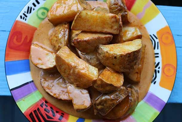 Patatas Bravas (Spanish Tapa)