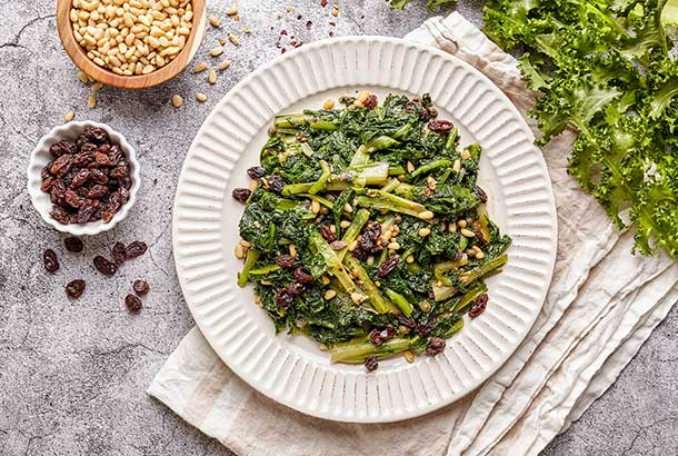 Sautéed Chicory Greens Southern Italian Style