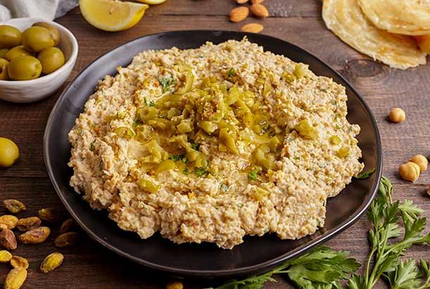 14th Century Egyptian Hummus