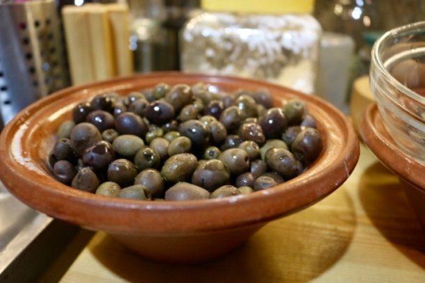 Ikaria bowl of olives