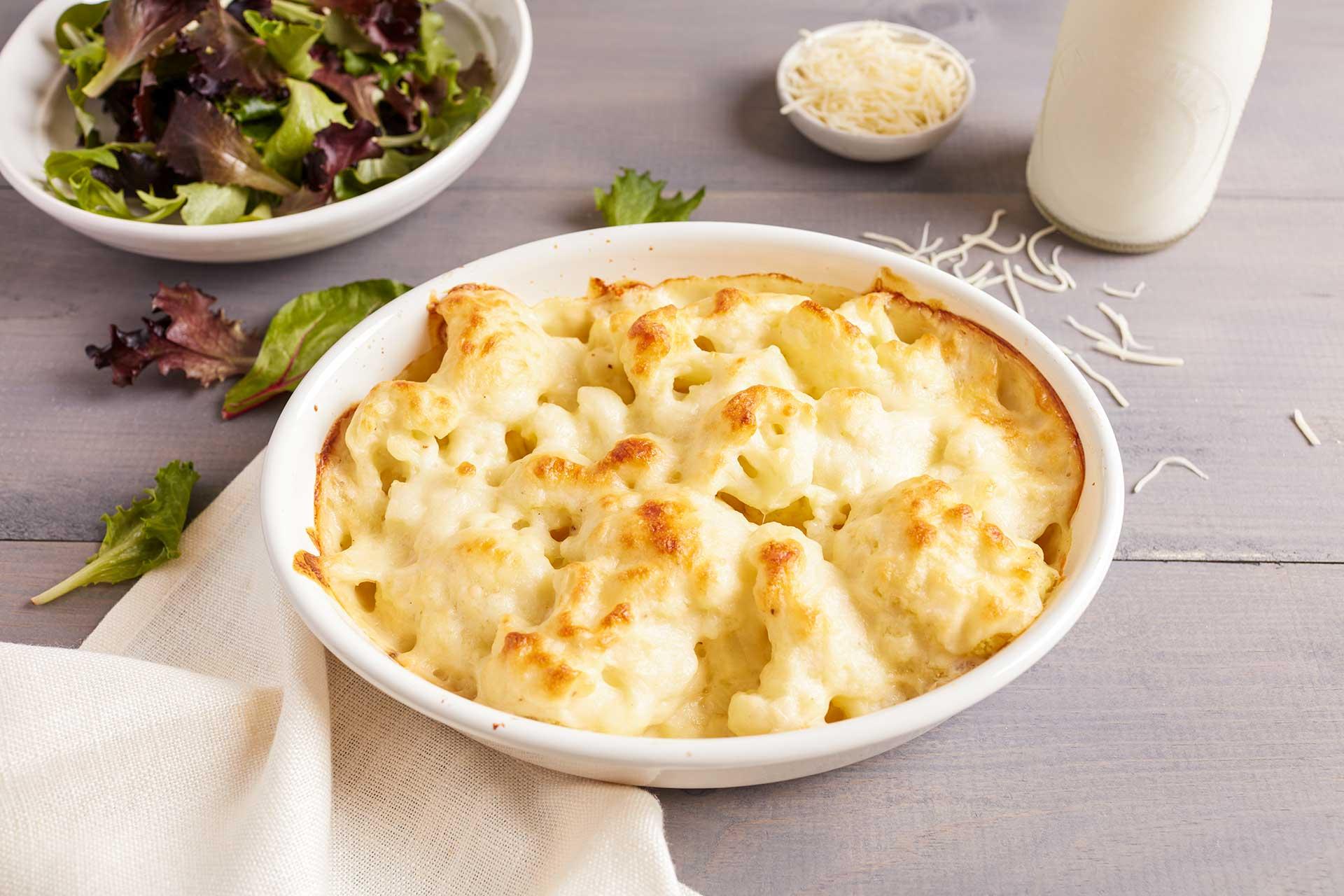 French Cauliflower Gratin