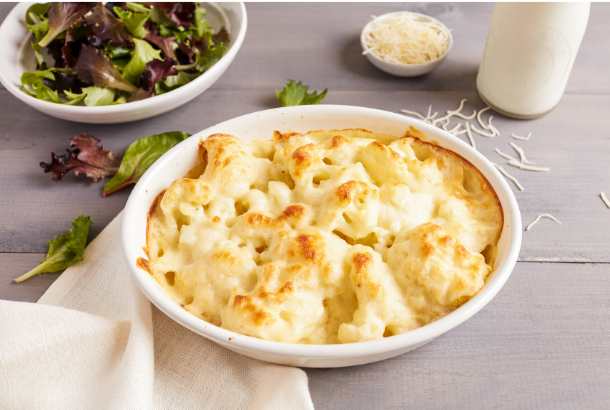 French Cauliflower Gratin