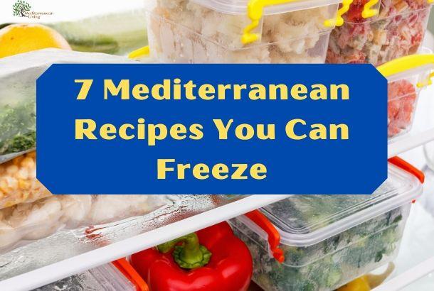 Freezing Vegetables Mediterranean Style