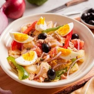 Tuna Salad with Egg and Potato (Spanish Country Salad)