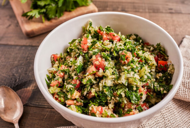 Tabbouleh (Lebanese Parsley and Lemon Salad)