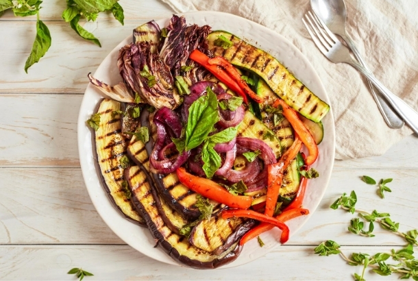 Traditional Grilled Italian Vegetables
