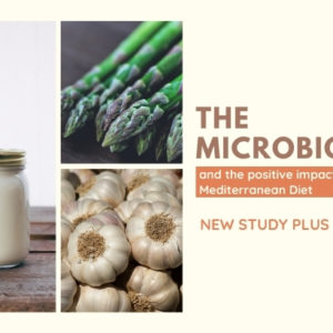 Mediterranean Diet Positively Alters the Gut Microbiome (Study with Recipes)