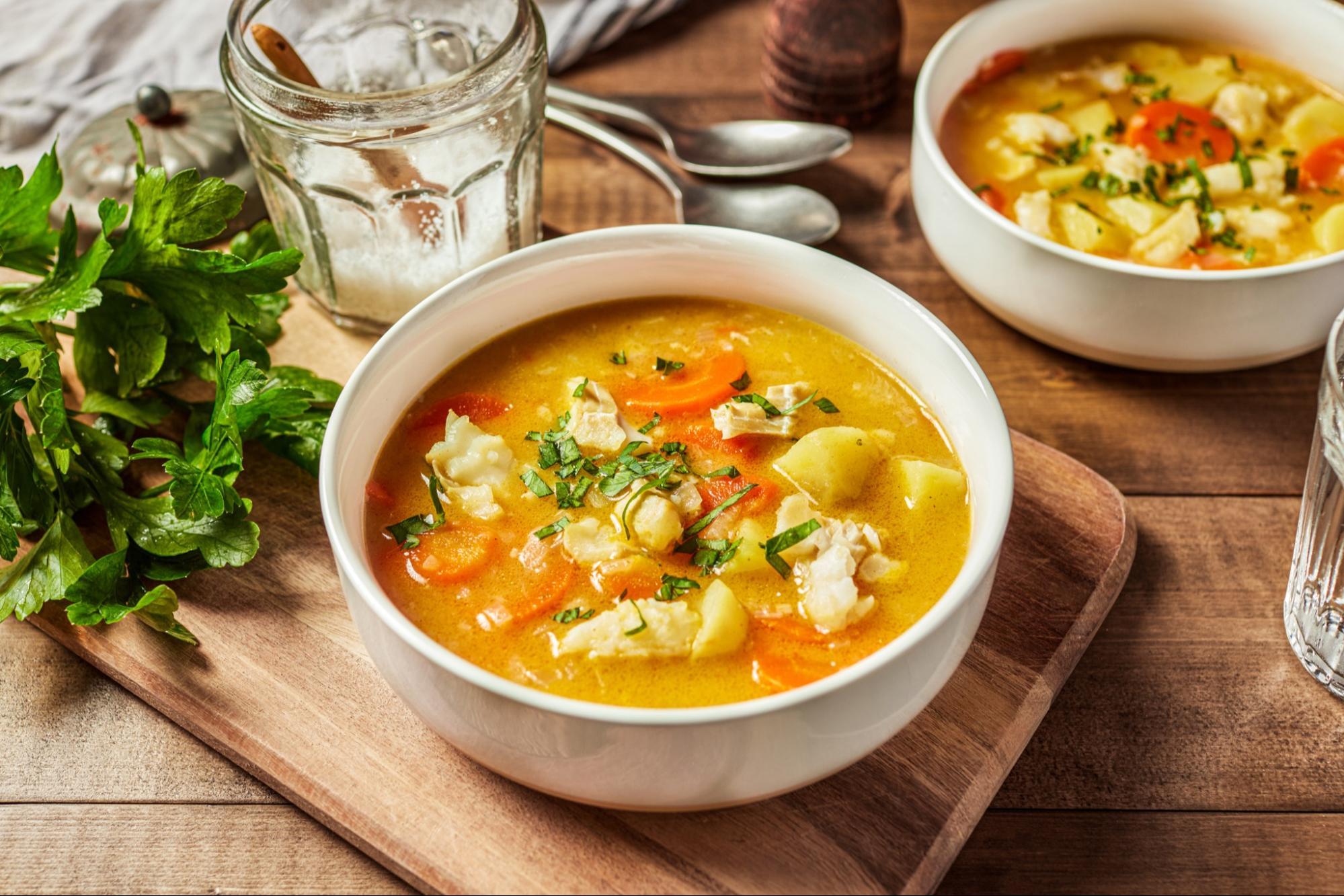 Mediterranean Fish Stew (30 minute recipe)