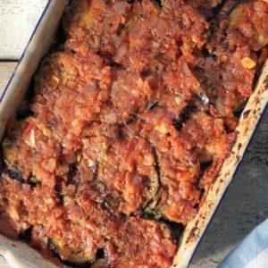 Eggplant Casserole (Ikarian Soufico)