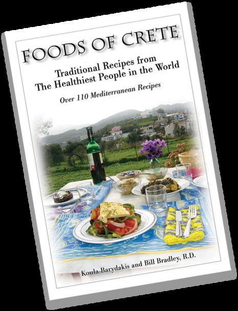 Foods of Crete Mediterranean Diet Cookbook
