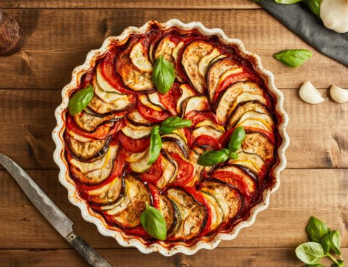 Tian Provencal (French Baked Summer Vegetables)